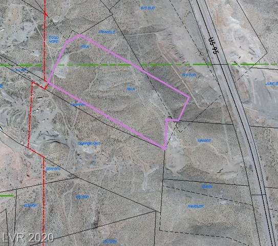 U. S. Highway 95, Searchlight, NV 89039 (MLS #2210542) :: Signature Real Estate Group