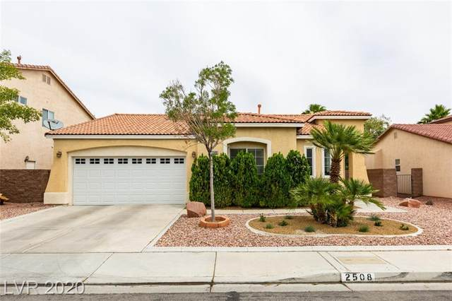 2508 Wellworth Avenue, Henderson, NV 89074 (MLS #2210666) :: The Lindstrom Group