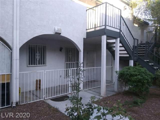 2480 Old Forge Lane #66, Las Vegas, NV 89121 (MLS #2212102) :: Hebert Group | Realty One Group