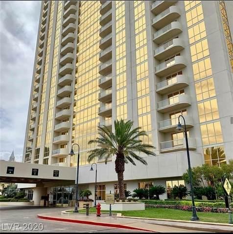 145 E Harmon Avenue #3205, Las Vegas, NV 89109 (MLS #2212625) :: The Mark Wiley Group   Keller Williams Realty SW