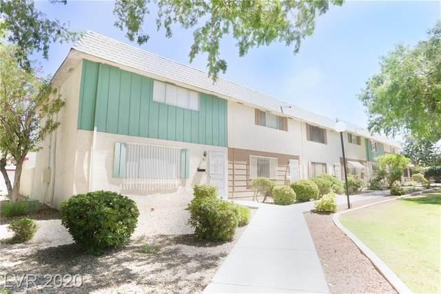 661 Greenbriar Townhouse Way, Las Vegas, NV 89121 (MLS #2212704) :: Signature Real Estate Group