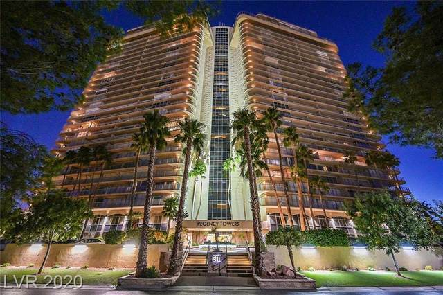 3111 Bel Air Drive 18D, Las Vegas, NV 89109 (MLS #2214307) :: Jeffrey Sabel