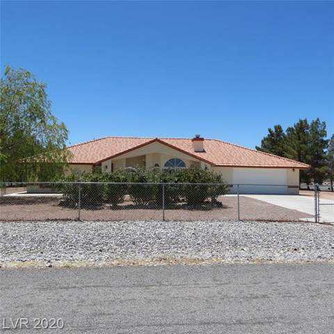 1761 Iguana Street, Pahrump, NV 89048 (MLS #2214344) :: The Mark Wiley Group | Keller Williams Realty SW