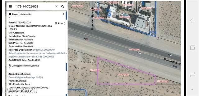0 Blue Diamond Rd, Las Vegas, NV 89161 (MLS #2214406) :: Kypreos Team