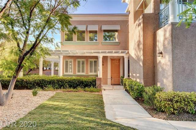 801 Dana Hills Court #102, Las Vegas, NV 89134 (MLS #2214484) :: The Shear Team