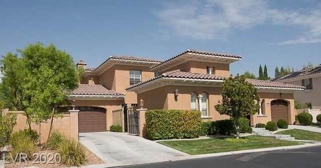 1205 Saintsbury Drive, Las Vegas, NV 89144 (MLS #2215113) :: The Lindstrom Group