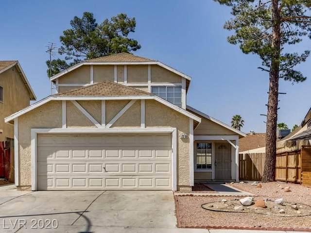 7216 Mocha Drive, Las Vegas, NV 89128 (MLS #2215734) :: The Lindstrom Group