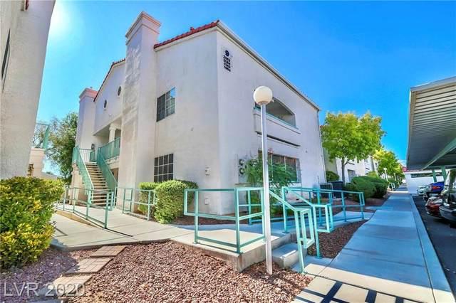2725 S Nellis Boulevard #1064, Las Vegas, NV 89121 (MLS #2216239) :: Jeffrey Sabel