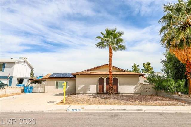 6278 Woodbury Avenue, Las Vegas, NV 89103 (MLS #2216791) :: The Lindstrom Group