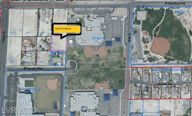 0/0 Valley Dr, North Las Vegas, NV 89031 (MLS #2216800) :: Helen Riley Group | Simply Vegas