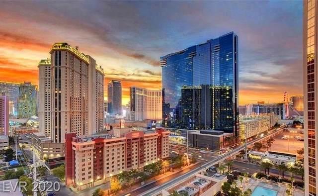 135 E Harmon Avenue 3019&3021, Las Vegas, NV 89109 (MLS #2217593) :: Hebert Group | Realty One Group