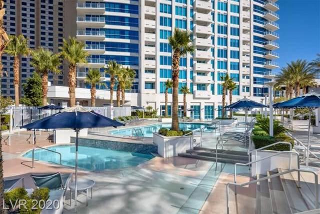 2700 Las Vegas Boulevard #1007, Las Vegas, NV 89109 (MLS #2218095) :: Signature Real Estate Group