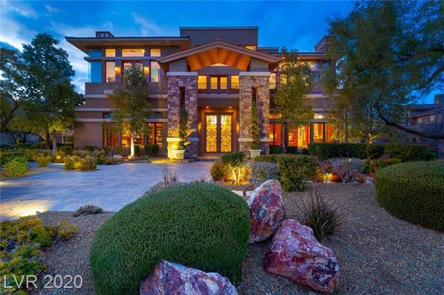 26 Promontory Ridge Drive, Las Vegas, NV 89135 (MLS #2218235) :: Billy OKeefe | Berkshire Hathaway HomeServices