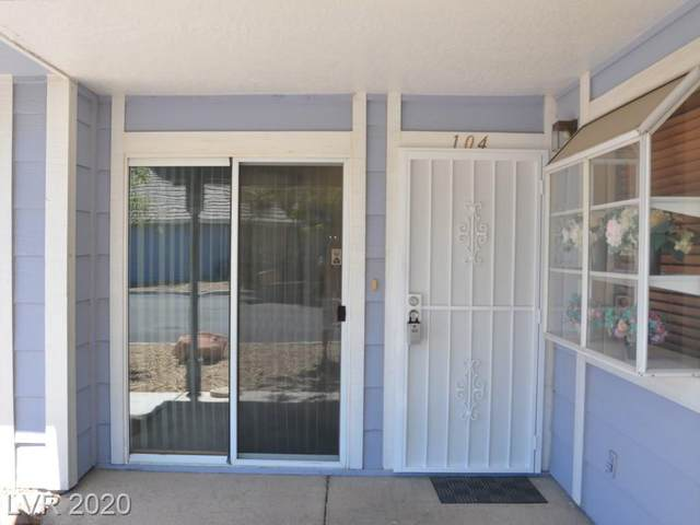 5350 Silvermist Court #104, Las Vegas, NV 89122 (MLS #2218339) :: Signature Real Estate Group