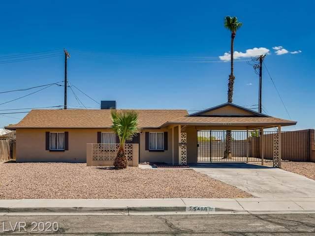 5466 Wilbur Street, Las Vegas, NV 89119 (MLS #2218346) :: The Lindstrom Group