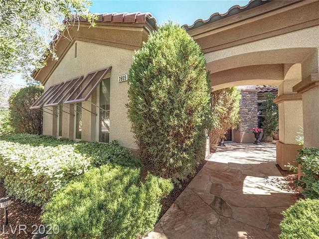 2809 Botticelli Drive, Henderson, NV 89052 (MLS #2218466) :: Signature Real Estate Group