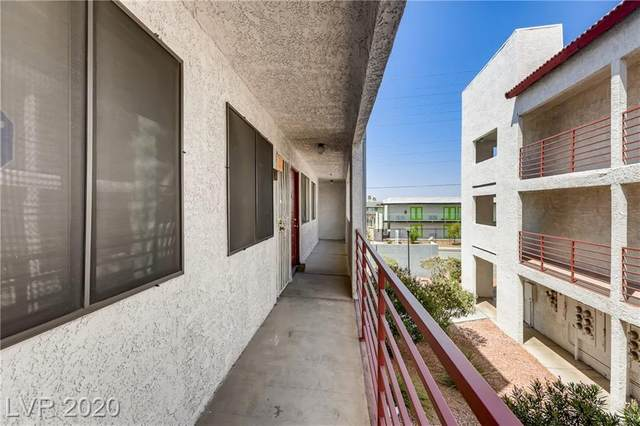 1361 University Avenue #205, Las Vegas, NV 89119 (MLS #2218665) :: The Lindstrom Group
