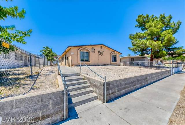 219 14th Street, Las Vegas, NV 89101 (MLS #2218774) :: Helen Riley Group | Simply Vegas