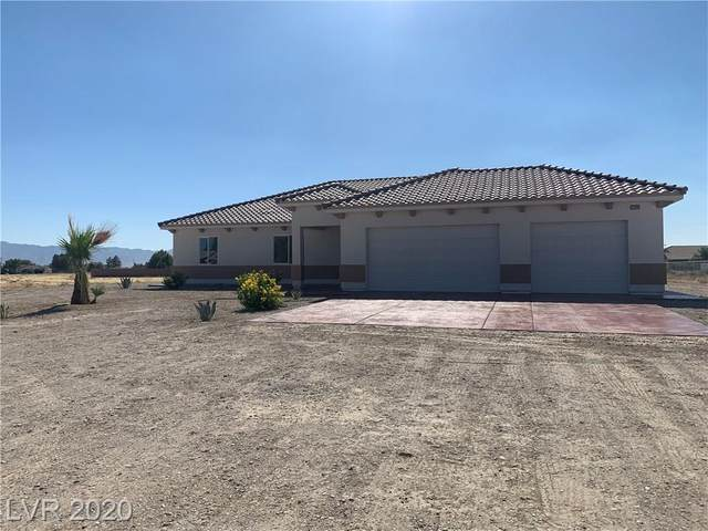 2800 Peggy Avenue, Pahrump, NV 89048 (MLS #2219294) :: Realty One Group