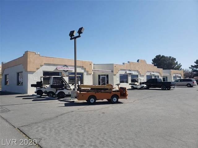 1971 Pahrump Valley Boulevard, Pahrump, NV 89048 (MLS #2219428) :: Realty One Group