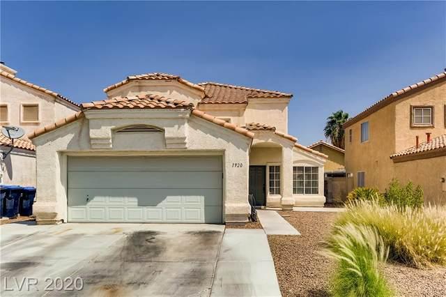 1920 Monte Alban Drive, Las Vegas, NV 89031 (MLS #2219589) :: Hebert Group | Realty One Group