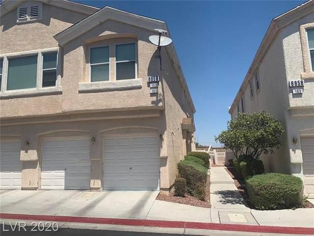 8866 Duncan Barrel Avenue #101, Las Vegas, NV 89178 (MLS #2220149) :: Performance Realty
