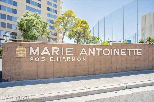205 Harmon Avenue #1005, Las Vegas, NV 89169 (MLS #2220931) :: Vestuto Realty Group