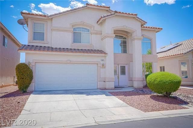 885 Dancing Vines Avenue, Las Vegas, NV 89183 (MLS #2221460) :: Kypreos Team