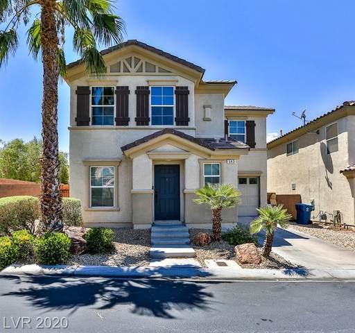 543 Lapford Street, Las Vegas, NV 89178 (MLS #2222245) :: Jeffrey Sabel
