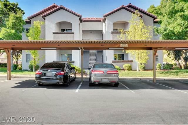 2615 Gary Avenue #1011, Las Vegas, NV 89123 (MLS #2222682) :: Kypreos Team