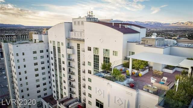 150 Las Vegas Boulevard #1008, Las Vegas, NV 89101 (MLS #2223073) :: Jeffrey Sabel