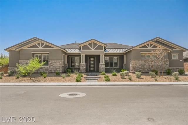 10921 Luna Blanca Drive, Las Vegas, NV 89138 (MLS #2223604) :: Jeffrey Sabel