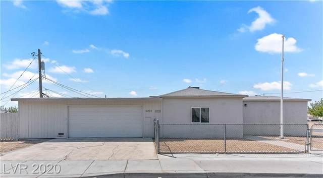 2229 Donna Street, North Las Vegas, NV 89030 (MLS #2223617) :: Helen Riley Group | Simply Vegas