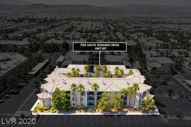 7159 Durango Drive #307, Las Vegas, NV 89113 (MLS #2223835) :: The Mark Wiley Group | Keller Williams Realty SW