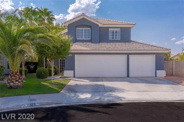 7229 Utopia Way, Las Vegas, NV 89130 (MLS #2224145) :: Helen Riley Group | Simply Vegas