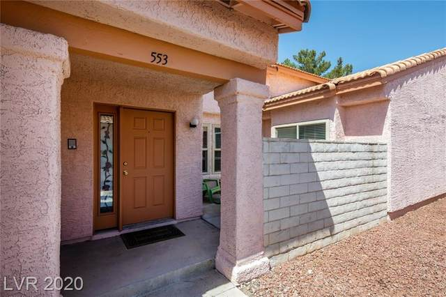 553 Cervantes Drive, Henderson, NV 89014 (MLS #2224369) :: Performance Realty