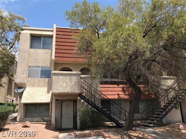 3585 Arville Street 402C, Las Vegas, NV 89103 (MLS #2224607) :: The Perna Group