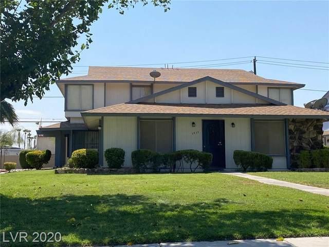 1433 Elizabeth Avenue #3, Las Vegas, NV 89119 (MLS #2225148) :: The Lindstrom Group
