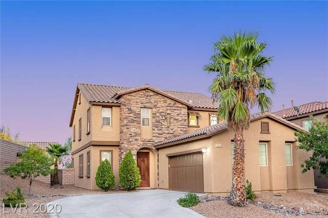 600 Wandering Violets Way, Las Vegas, NV 89138 (MLS #2225294) :: Jeffrey Sabel
