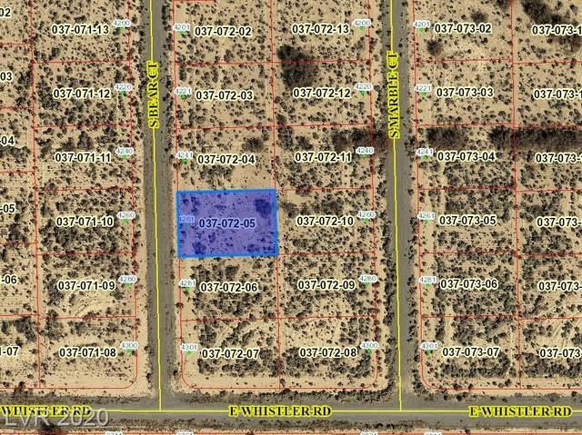 4261 S Bear Court, Pahrump, NV 89061 (MLS #2225470) :: Jeffrey Sabel