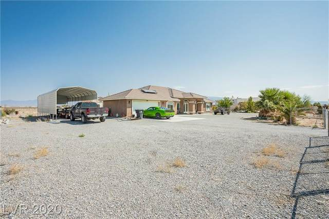 1920 Silver Street, Pahrump, NV 89048 (MLS #2225509) :: The Shear Team