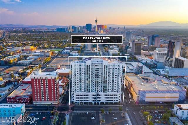 150 Las Vegas Boulevard #2303, Las Vegas, NV 89101 (MLS #2225511) :: Jeffrey Sabel