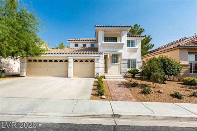 3063 Misty Moon Avenue, Henderson, NV 89052 (MLS #2225537) :: The Shear Team