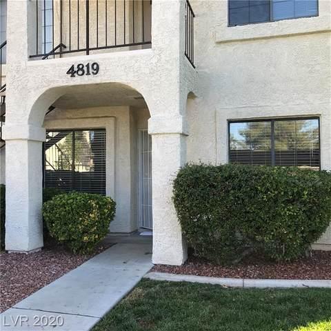 4819 Nara Vista Way #102, Las Vegas, NV 89103 (MLS #2226054) :: Jeffrey Sabel
