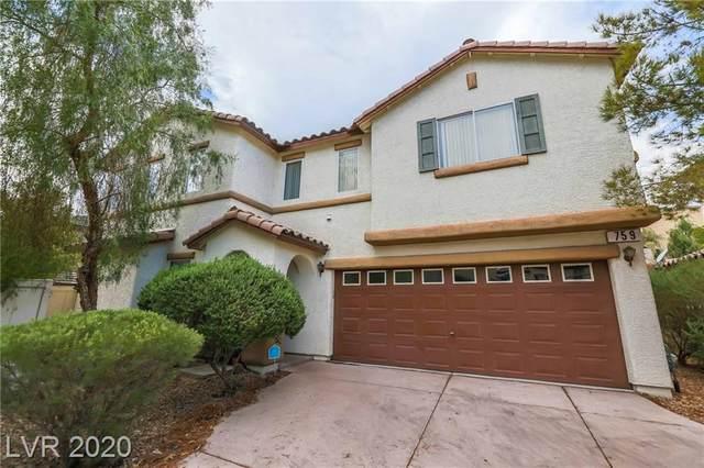759 Sunrise Crossing Street, Henderson, NV 89014 (MLS #2226116) :: Billy OKeefe | Berkshire Hathaway HomeServices