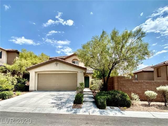936 Lord Crewe Street, Las Vegas, NV 89138 (MLS #2226315) :: Jeffrey Sabel