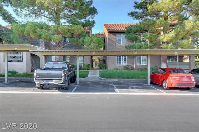 7720 Secret Shore Drive #205, Las Vegas, NV 89128 (MLS #2226760) :: Jeffrey Sabel