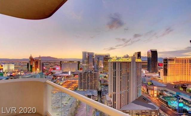 145 Harmon Avenue #801, Las Vegas, NV 89109 (MLS #2226799) :: The Perna Group