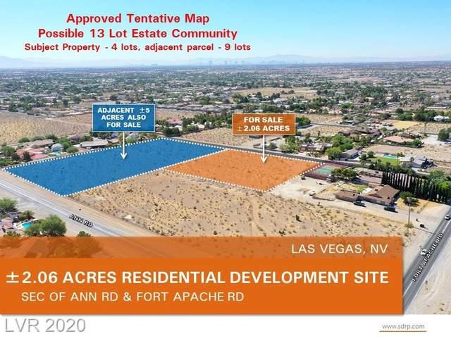 Stephen Ave, Las Vegas, NV 89149 (MLS #2228448) :: Performance Realty