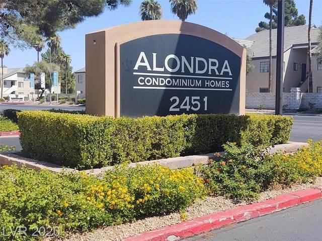 2451 Rainbow Boulevard #1126, Las Vegas, NV 89108 (MLS #2228569) :: Jeffrey Sabel